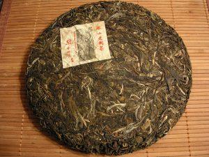 chinese green tea cake