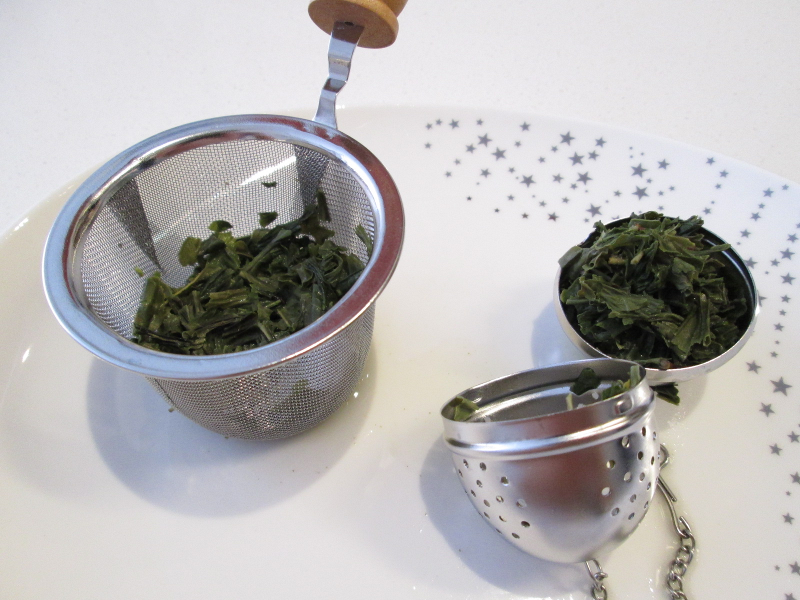 Brewed Tea Leaves My Anese Green