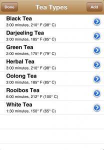 camellia tea timer app 2