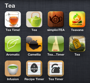 tea apps for the iphone