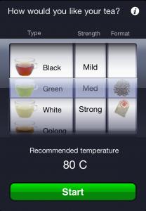 tea time app