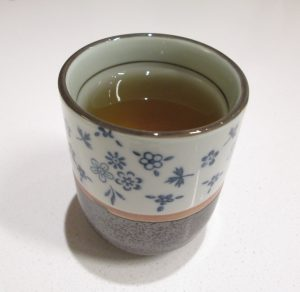Home made houjicha