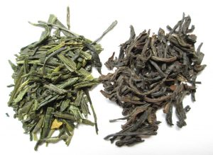 Oxidation of tea leaves