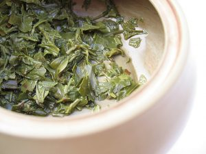 Steeping Sencha