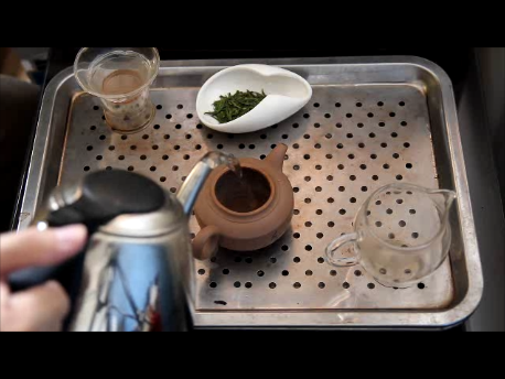 Chinese pot brewing