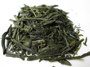 Gyokuro leaves for ice brewing