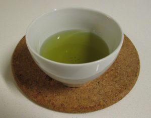 Kesennuma kuwacha sencha brewed