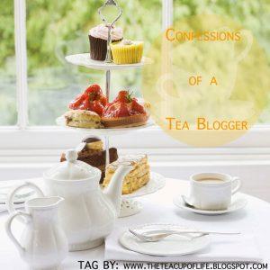Confessions of a tea blogger