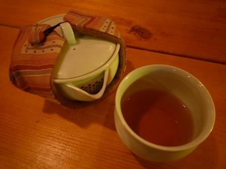 Brewed Japanese black tea