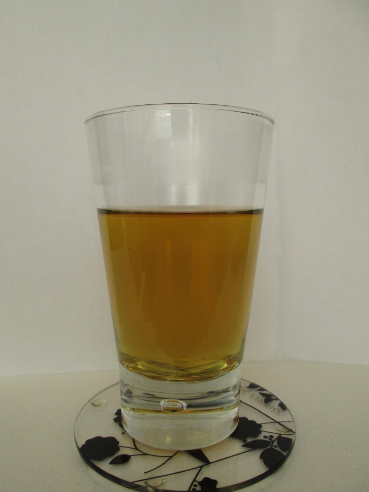 Green tea mouthwash