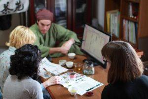 Professional tea session with Obubu team