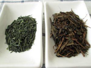Gyokuro vs houjicha