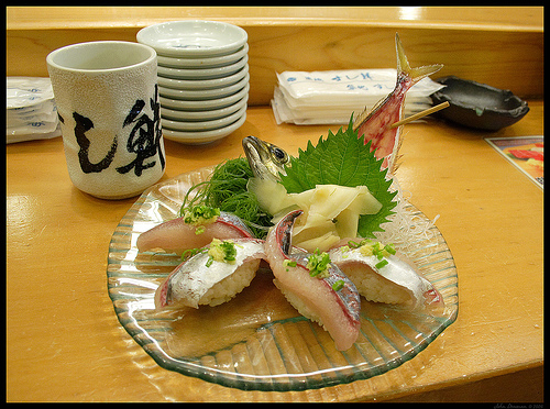 Pairing Japanese Green Tea With Food