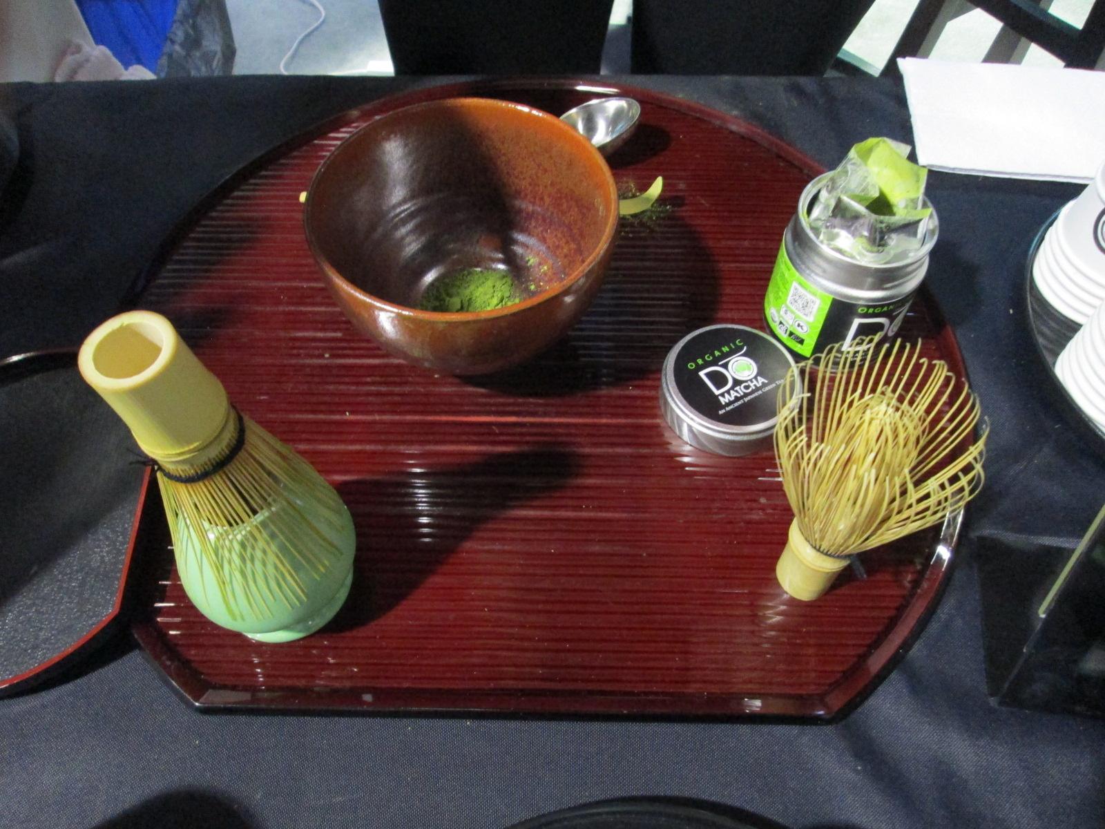 Domatcha preparation for tasting