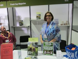Fresh Cup Magazine at WTE2015