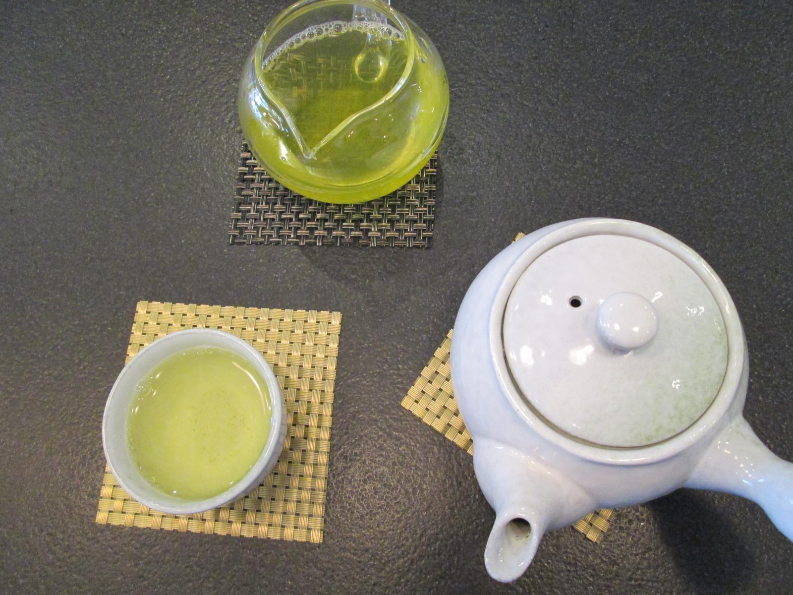 Sencha at The taste of tea