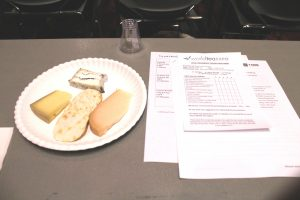 cheese and tea pairing at WTE2016
