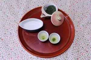 Rishouen Tea tasting