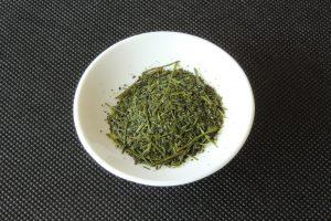 Japanese green tea in Issaku