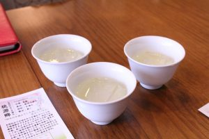 tea with ice at Chachanoma