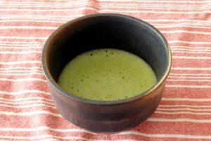 Ryutsu Service organic matcha brewed